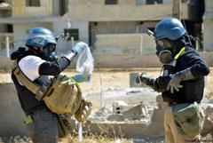 UN inspectors in Syria find more evidence of chemical weapons use